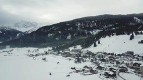 在Lermoos,奥地利附近的美丽的景色 影视素材