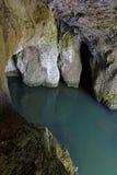 在lison河的一个洞 库存图片