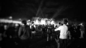 在Lollapalooza的爱 免版税库存照片