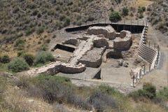 在Los米亚雷斯的看法 库存照片