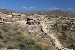 在Los米亚雷斯的看法 免版税库存图片