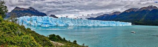在Los Glaciares国家公园N的佩里托莫雷诺冰川 P 阿根廷 库存照片