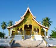 在Luang Prabang,老挝的寺庙 库存照片