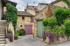 在Luberon的Mirabeau 免版税库存照片
