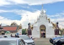 在Lumphun的寺庙 库存图片
