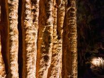 在Luray洞穴的不同的形成 免版税库存照片
