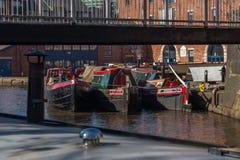 在Lyne下的Ashton 兰开夏郡,英国,英国- 2016年3月14日: 免版税库存照片