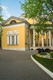 在Lyublino博物馆庄园的贵族豪宅  莫斯科 免版税库存图片