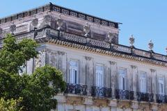 在Mérida Yucatà ¡ n的经典大厦 库存图片