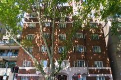 在Macleay街道,波茨点,悉尼上的历史的Selsdon大厦 图库摄影