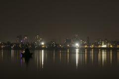 在Madh海岛附近,孟买 免版税库存照片