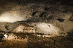在Magura洞,贝洛格拉奇克,保加利亚的古老图画 图库摄影