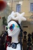 在manequin的头的时髦的太阳镜 免版税库存照片