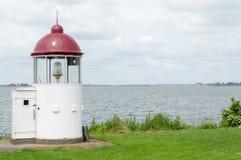 在Marken的灯塔 库存照片