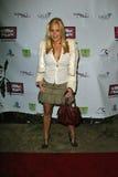 在Meghan时尚星期套党的罗宾Hibbard。小屋俱乐部,好莱坞, CA. 10-21-05 库存图片