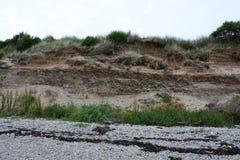 在Meikle轮渡的被上升的海滩 库存照片