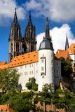 在Meissen的Albrechtsburg 免版税库存图片