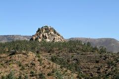 在Mekele的风景在埃塞俄比亚 库存图片