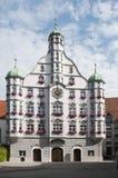 在memmingen的Parlement大厦 库存图片