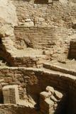 在Mesa Verde的废墟 免版税库存照片
