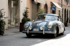 在Mille Miglia的保时捷356 2016年 库存照片