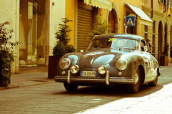 在Mille Miglia的保时捷356 2016年 图库摄影