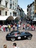 在Mille Miglia的法拉利340美国berlinetta Vignale 2015年 图库摄影