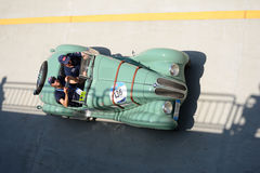 1939在Mille Miglia的BMW 328 库存照片