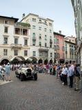 在Mille Miglia的Bugatti类型37A 2015年 免版税库存照片