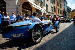 在Mille Miglia的Bugatti类型37 2015年 图库摄影