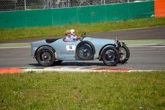 1924年在Mille Miglia的Bugatti类型30 免版税库存照片