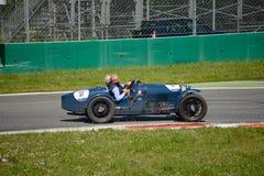 1927年在Mille Miglia的Bugatti类型37 免版税库存图片