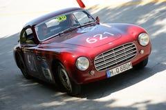 1952年在Mille Miglia的Cisitalia第202 免版税图库摄影