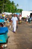 在Mirissa的鱼市 图库摄影