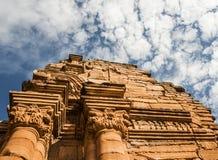 在Missiones省,阿根廷的圣伊格纳西奥废墟 免版税库存照片