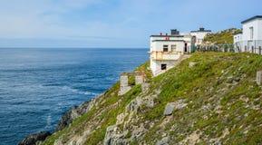 在Mizen头, Kilmore半岛的风景视域在科克郡,爱尔兰 免版税图库摄影