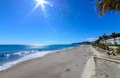 在Mojacar的海滩 库存图片