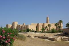 在Monastir的Ribat在突尼斯,非洲 库存图片