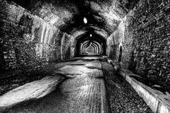 在Monsal足迹的隧道 免版税库存照片