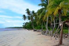 在Morro de SA£oo保罗,巴西靠岸 图库摄影