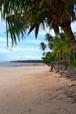 在Morro de SA£oo保罗,巴西靠岸 免版税库存照片