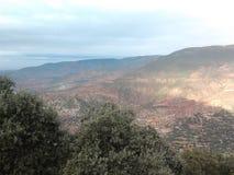在morroco北部的自然speace 免版税库存图片
