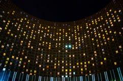 在MosÑ  ow的旅馆波斯菊 库存照片