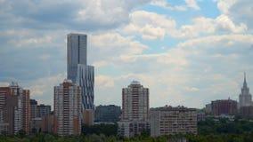 在Mosfilmovskaya的议院复合体 免版税库存图片