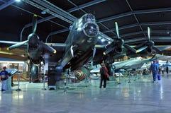 在MOTAT 2的Avro兰卡斯特轰炸机 库存图片