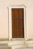在mozzate街道lombardyborghi宫殿意大利摘要t附近 库存图片
