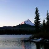 在Mt的早晨光 华盛顿 免版税库存图片