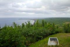在Mt的硫磺岛纪念品 Suribachi 图库摄影