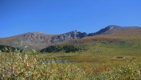 在Mt的Trailhead Bierstadt,科罗拉多 免版税库存照片