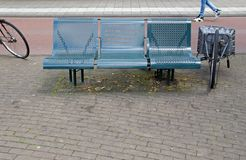 在Muiderpoortstation的纪念碑在阿姆斯特丹 免版税图库摄影